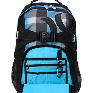Hurley Honor Roll 2 Checkered Backpack